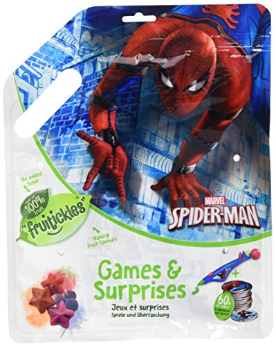 Bon Bon Buddies Surprise Bag Large - Spiderman - Kinder Überraschungstüte, 3er Pack (3 x 10 g)