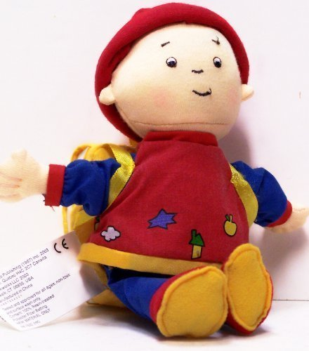 Caillou a Book in a Backpack