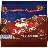 McVitie's Mini Digestives - Milk Chocolate (6x25g)
