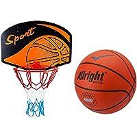 kimet Canasta de Baloncesto (con Pelota de Baloncesto–Canasta Baloncesto Juego manschafts Deportes Pelota