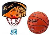Basketballkorb mit Ball Basketball Korb Set Basketballspiel Manschaftssport BALL