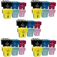 Prestige Cartridge HP 363 Cartucce d'Inchiostro Compatibile per Stampanti HP Photosmart Serie, 30 Pezzi, Multicolore - Confronta prezzi