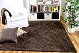 Snapstyle Mona - Alfombra Pelo Corto - Velour - Marrón Oscuro - 17 tamaños
