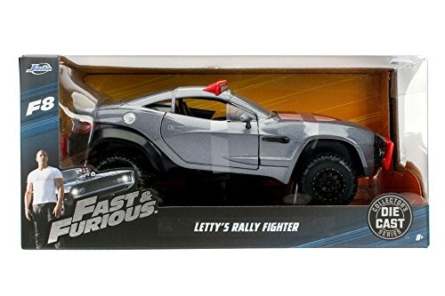 Jada Toys – 98297s – Lokaler Motors Rally Fighter – Fast and Furious 8 – Maßstab 1/24 – Grau