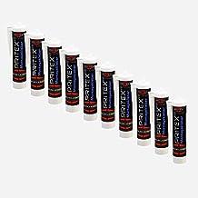 Montagekleber 10 Kartuschen x 300ml Baukleber weiß Montageklebstoff PRITEX
