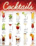 posterdepot Kaschierter Druck, Fertigbild - Cocktails - Deutsch - Größe 40 x 50 cm