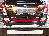 passgenau für Opel Mokka X, ab 2016; Lackschutzfolie Ladekantenschutz transparent