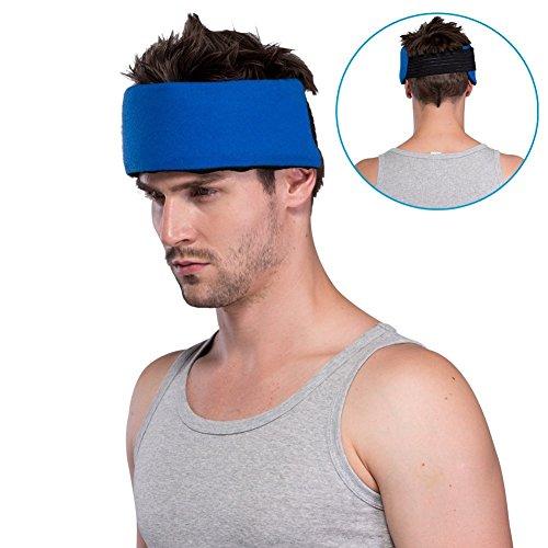 Ghiaccio pack gel terapie di caldo freddo fascia per testa collo ginocchio e infiammazione del polso e del gomito muscolo sollievo rapido alleviare il dolore