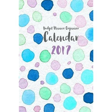 Budget Planner Organizer Calendar 2017: (6x9 budget book)