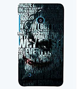 PRINTSWAG TYPOGRAPHY Designer Back Cover Case for NOKIA LUMIA 530