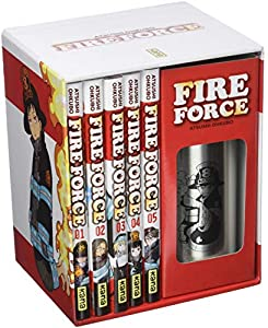 Fire Force Coffret Thermos Coffret tomes 1 à 5