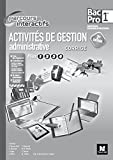 Parcours Interactifs - Activités de gestion administrative - 1re BAC PRO - Corrigé