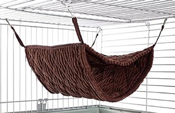 little friends giant double bunkbed hammock luxury chocolate  amazon co uk  pet supplies little friends giant double bunkbed hammock luxury chocolate      rh   amazon co uk