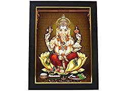 God Ganesha Photo Frame