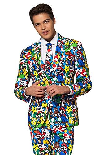 Opposuits Abschlussball kostüme für Herren - Mit Jackett, Hose und Krawatte mit Festlichen ()