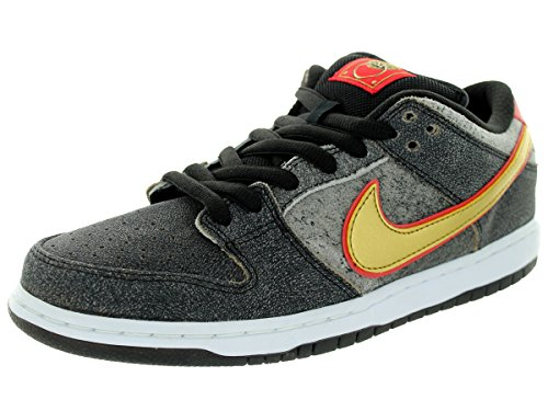 Da uomo Nike Dunk Low Premium SB Skate Shoe, nero (Black), M US