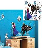 alles-meine.de GmbH 13 Stück: Wandsticker _  Disney die Eiskönigin - Frozen  - Selbstklebend + w..
