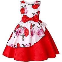 Abiti Eleganti X Bambina.Amazon It Vestiti Bambina Eleganti Rosso