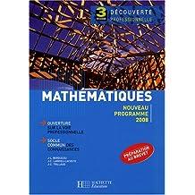 Mathématiques 3e Découverte professionnelle
