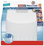 Tesa 59706-00000-02 - Cesta para baño grande + tiras + toallitas