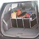 Kicode Grande pieghevole Cassetta di immagazzinaggio con Materiale traspirante antimuffa Per Home Organizzatori E camion SUV per auto