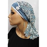 Beanie Mütze Bandana Bunt Ornamente mit Band Sommermütze little things in life Chemo Cap Hat Chemomütze Mütze bei Krebs Kopfbedeckung Turban
