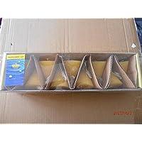 Candela galleggiante di 10cm in forma di cono, 6pezzi (Blu, Giallo, Arancione, Verde,....) arancione