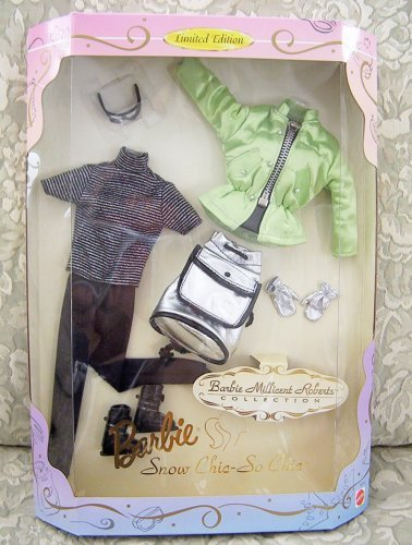 1997 Barbie Collectibles Barbie Millicent Roberts Collection Snow Chic So Chic Fashion Set