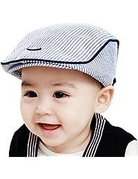 Tefamore Sombrero Bebé Casquillo De La Boina De La Raya Gorra De Elegante De Fotografía Prop