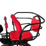 Baby-Fahrrad-Sitz-Fahrrad-Batterie-Auto-Baby-Sicherheits-Sitz-Fahrrad-vorderer Kind-Sitz , red