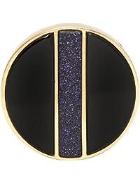 Lola Rose Garo Divided Statement Blue Sandstone Ring - Size Small