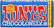Tony's Chocolonely Dark Chocolate, 15 x 18