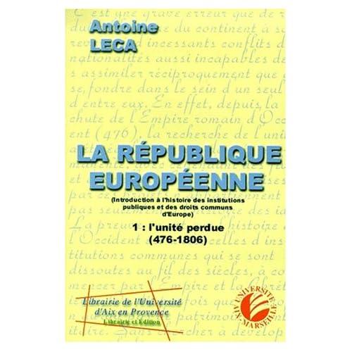 La republique europeenne