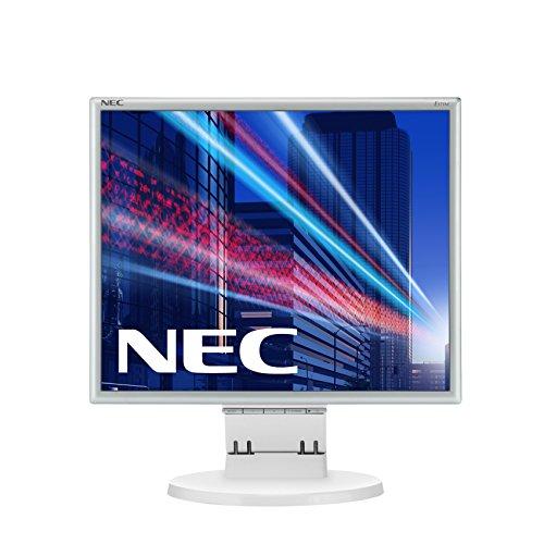 NEC MultiSync E171M 43,2 cm (17 Zoll) Monitor (VGA, DVI-D, 5ms Reaktionszeit) weiß