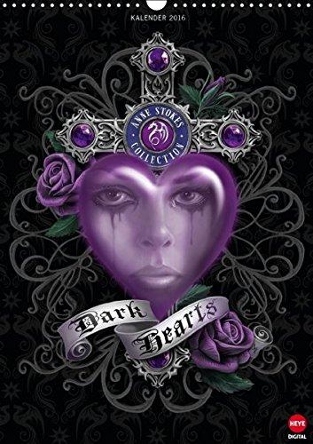 Dark Hearts (Wandkalender 2016 DIN A3 hoch): Fantasy by Anne Stokes! (Monatskalender, 14 Seiten) (CALVENDO Kunst) (T-shirt Bücher Dunklen)