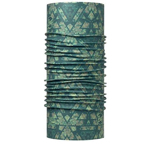 Buff -  Sciarpa  - Uomo BUFF Multifunktionstuch mit erhöhtem UV-Schutz Cypress, grün, Polyester, one size taglia unica