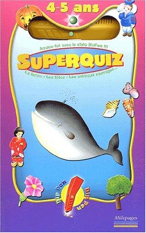 SuperQuiz 4-5 ans