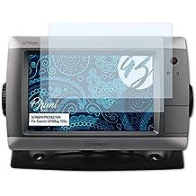 Bruni Película Protectora para Garmin GPSMap 720s Protector Película - 2 x claro Lámina Protectora de Pantalla