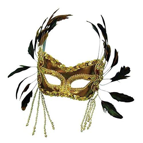 kerade Halloween Fancy Dress (Feder Kostüme Augenmaske)