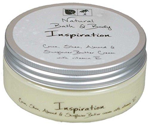 Kakaobutter Creme Handcreme Gesichtscreme INSPIRIEREND & BELEBEND 200 ml mit Sheabutter geeignet auch für sehr trockene Haut -