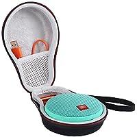 LuckyNV Carry Travel Housse de protection pour JBL Clip 2 Bluetooth haut-parleur espace supplémentaire pour la prise et les câbles noir