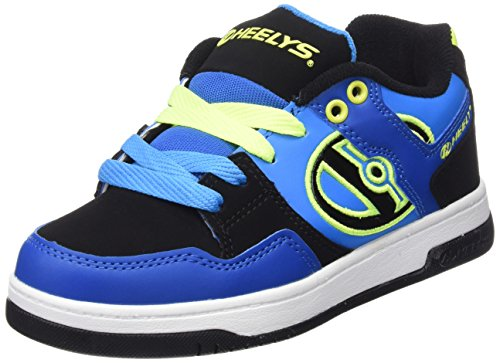 Heelys Flow 770608 - Sneakers Ragazzi, colore Multicolore (multi (Royal/Black/Lime)), taglia 35 EU ( 3 UK  )