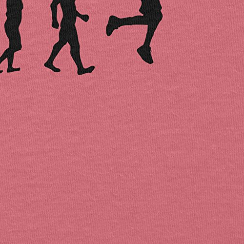 NERDO Basketball Evolution - Damen T-Shirt Pink