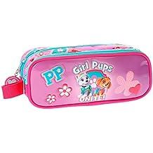 Paw Patrol Girls Pups Neceser de Viaje, 23 cm, 1.45 Litros, Rosa