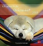Ich wünsch dir Gelassenheit Postkartenkalender - Kalender 2018