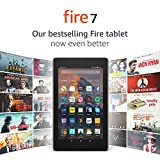 Fire 7 Tablet, 8 GB, Black-with Special Offers (Previous Generation - 7th)