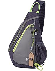 EGOGO multifuncional Honda bolso mochila cruzada cuerpo hombro Pack mochila bandolera