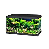 Ciano BLACK Aqua 60 LED Tropical Glass Aquarium - Includes Filter, Lights & Heater 58L