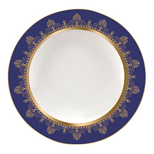 Wedgwood Anthemion Rim Soup Plate, 9
