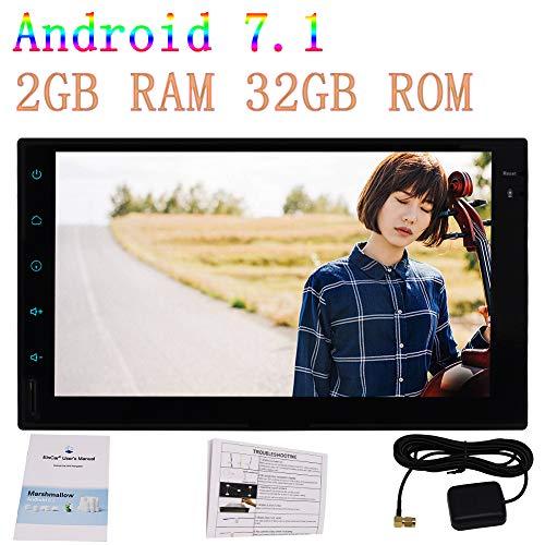 Eincar 8 Octa-Core Android 7.1 System 7 Zoll-Auto-Navigation f¨¹r Universal 2Din Doppel-DIN-2 GB RAM 32 GB ROM WIFI 3G / 4G-Netz HD 1080p Vedio Auto Stereo Bluetooth Front- und R¨¹ckfahkameraeingang Hd-3 Gb Ram